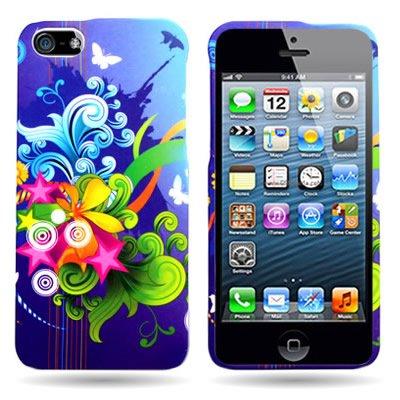FLORAL BURST Design for Apple Iphone 5S / 5