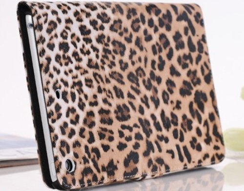 Fashion leopard ipad mini protective sleeve