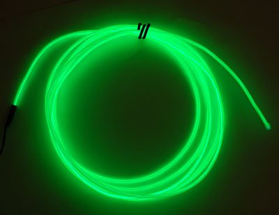 Neon Glowing Electroluminescent Wire