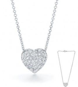 Swarovski Elements Crystal Heart Pendant Necklace