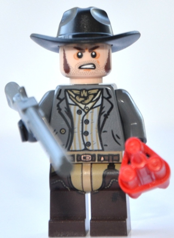 Barrett Minifigure with Rifle