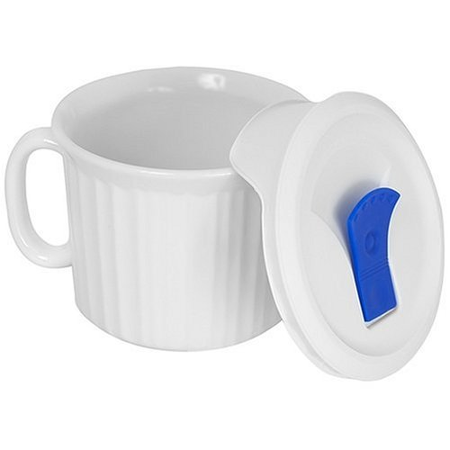 French White 20Ounce Mug
