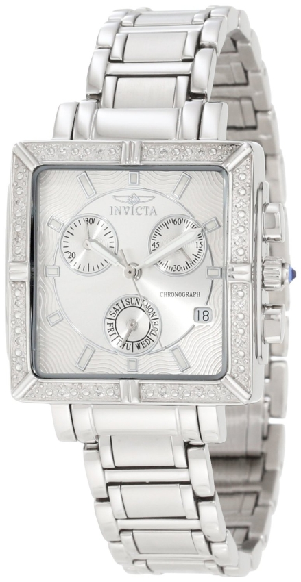 Invicta Women's Diamond Stainless Steel Chronograph Watch