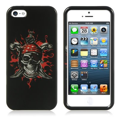 SKULL Design for Apple Iphone 5S / 5