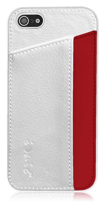 """Slim Dual Pocket Case Cover for """"The New iPhone"""""""