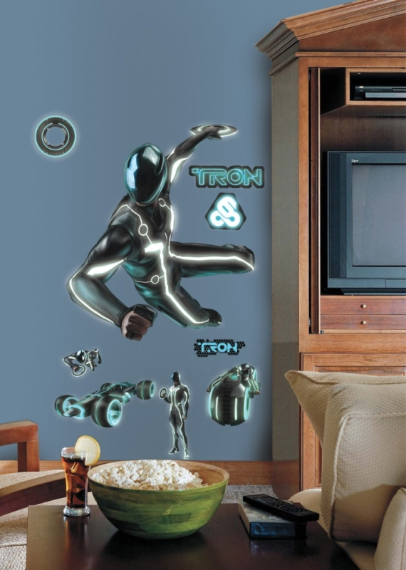 Tron Sam Peel and Stick Giant Wall Decal