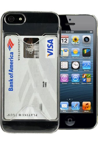 Wallet Card Case For iPhone 5 5S