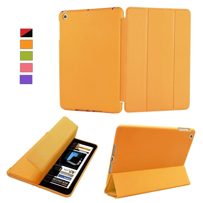iPad 5 AIR Case Orange Polyurethane Cover
