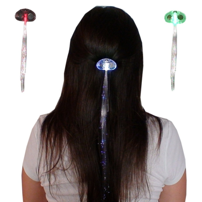 Light-up Fiber Optic Led Hair Lights