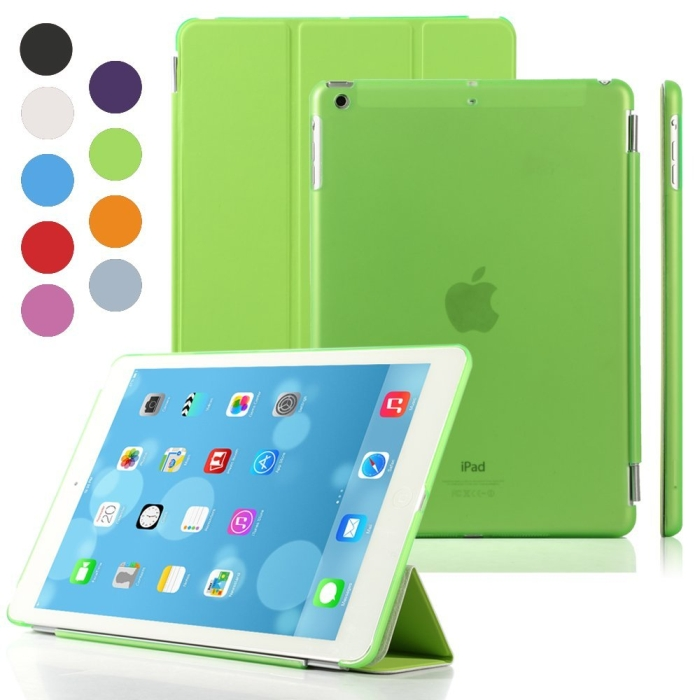 Magnetic Smart Cover clear Back Case for Apple iPad Air