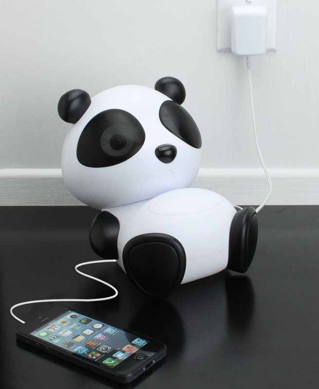 Mama Panda Pal Portable High-Powered Stereo Speaker