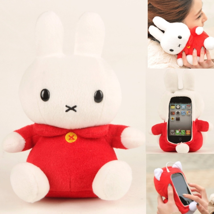 Plush Toy Cell Phone Case for iPhone 5 5c 5s