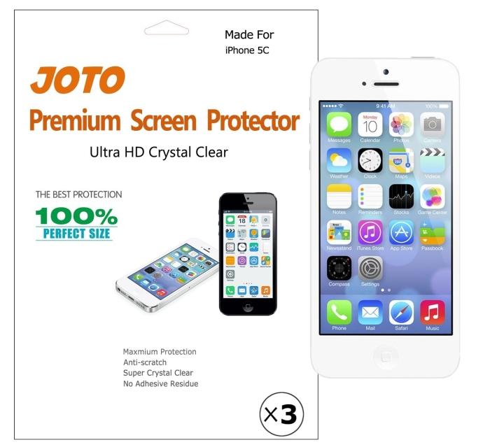 Premium Screen Protector Film for Apple iPhone 5C