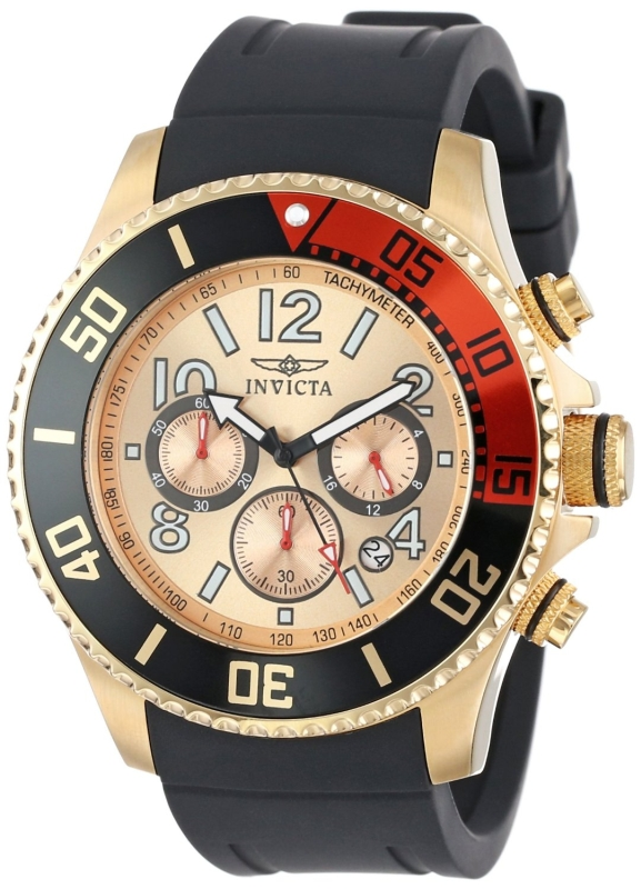 invicta Men's Polyurethane Watch