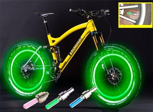 Led Flash Tyre Wheel Valve Cap Light
