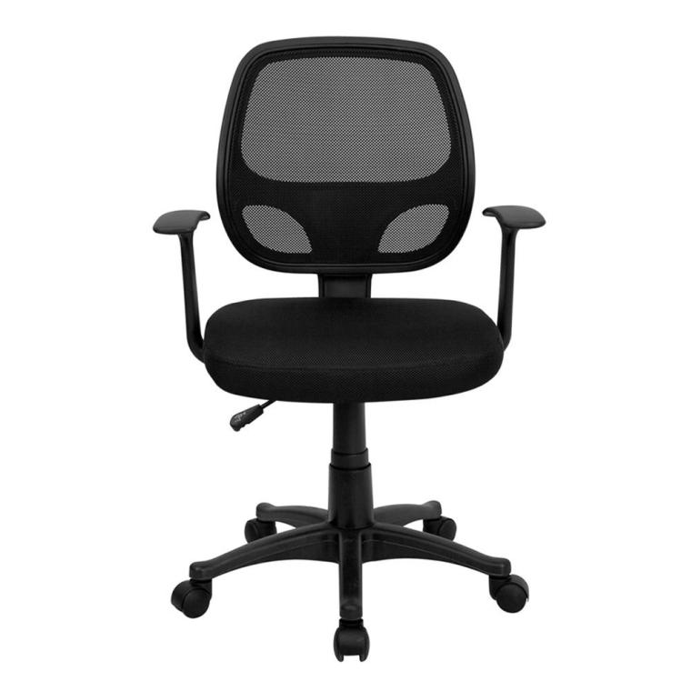Mid-Back Black Mesh Computer Chair