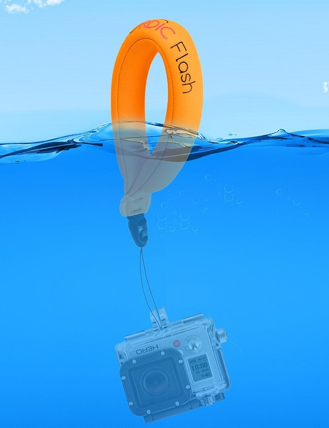 (2-pack) Floating Camera Strap for Your Underwater