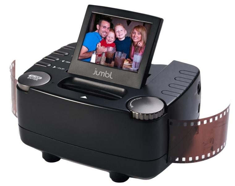 10 Mega Pixel 35mm Film Slide and Negative Scanner
