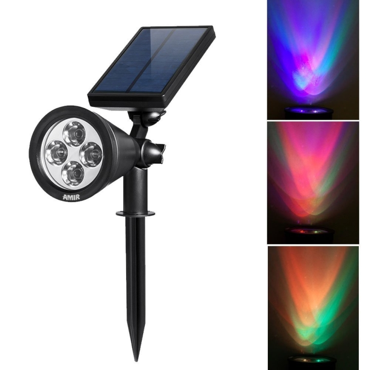 LED Solar Spotlight
