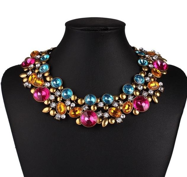 Luxury Drop Oval Necklace