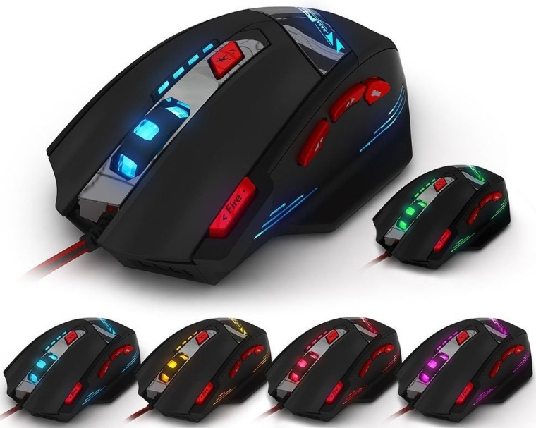 T90 Professional 9200 DPI High Precision USB Wired Gaming Mouse