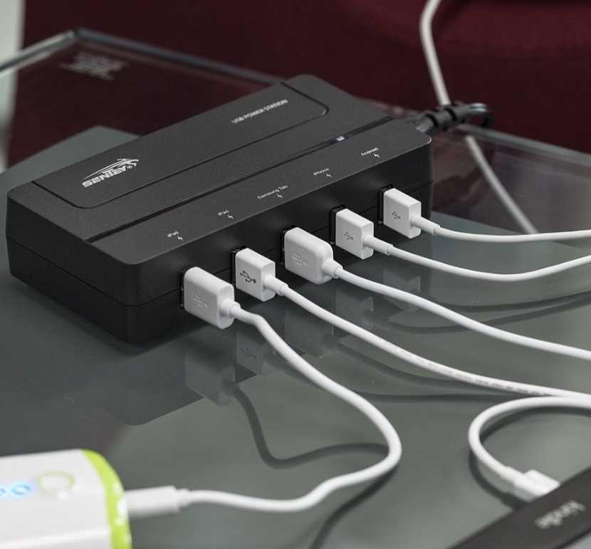 5-port 31w USB Charging Station Charger