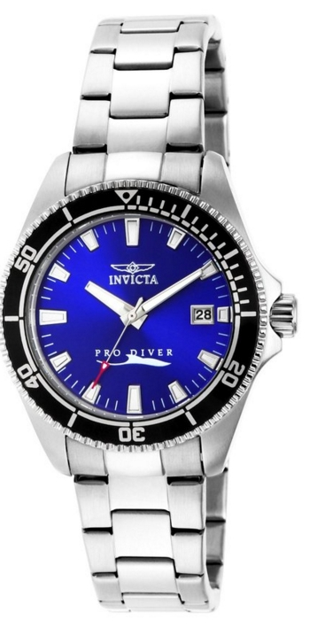 """Pro-Diver"" Stainless Steel Watch"