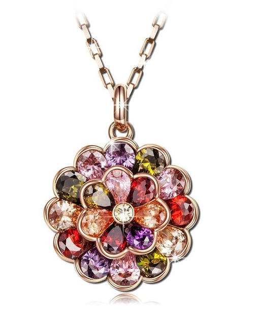 Rainbow Multicolor Women Necklaces